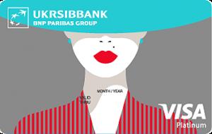Платіжна картка Visa Lady Card Platinum Visa - від Укрсіббанк