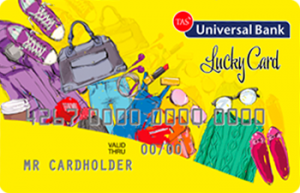 Платіжна картка Lucky Card Visa - від Універсал Банк